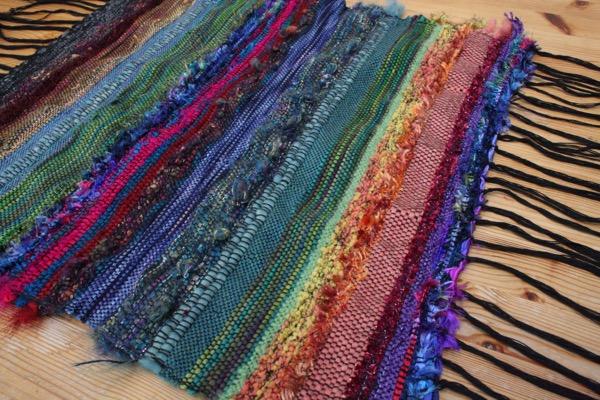 my first Saori weaving