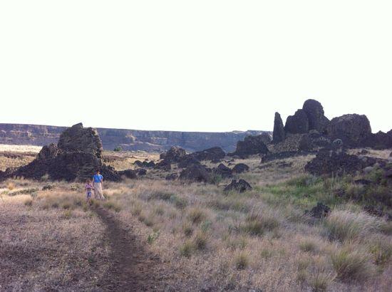 Umatilla Rock/Dry Falls State Park
