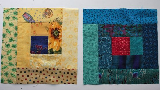 September blocks for Sew.Quilt.Give.