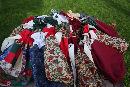Christmas bags of 2012