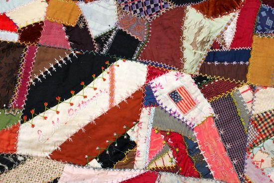 old crazy quilt