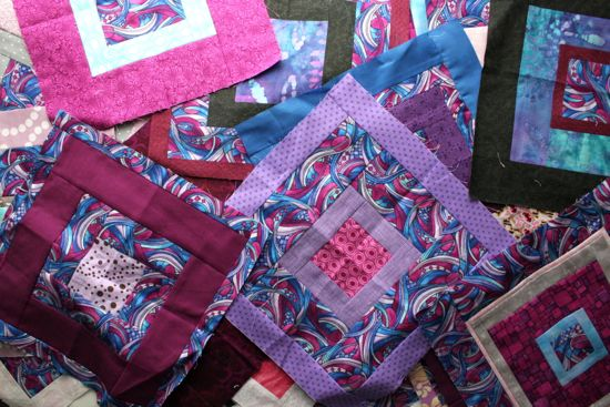 Sew.Quilt.Give. blocks for March