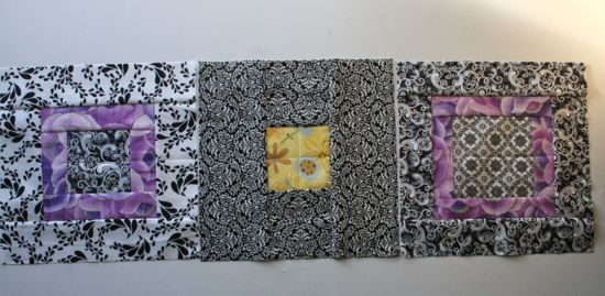Sew.Quilt.Give. blocks for April