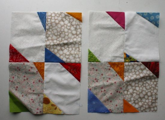 farfalle blocks for Sew.Quilt.Give.