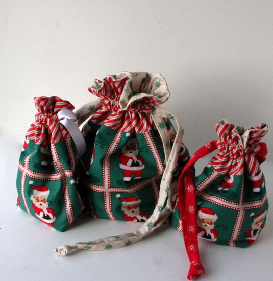 Christmas themed bags