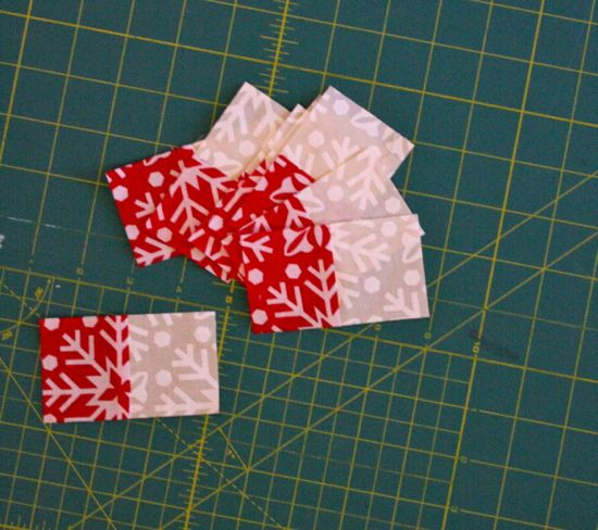 2x3.5 inch rectangles x 8
