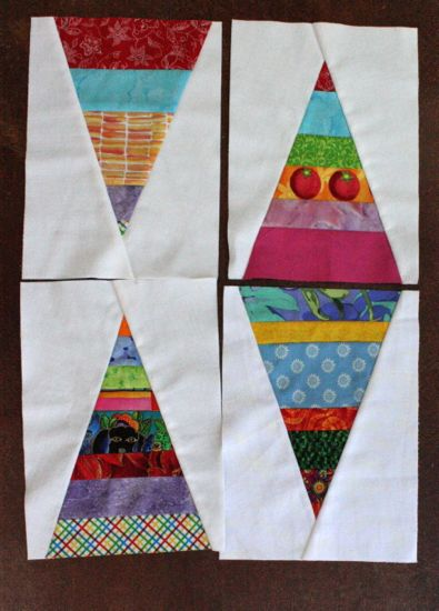 Sew.Quilt.Give. blocks for June