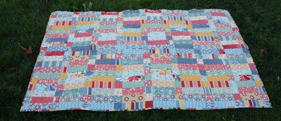 beach blanket quilt