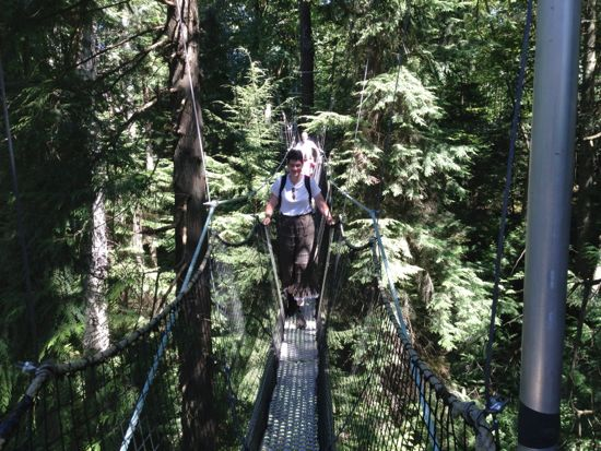 Canopy Walk, UBC Botanical Garden