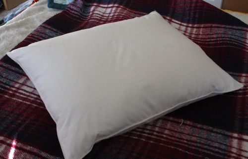 homemade pillow
