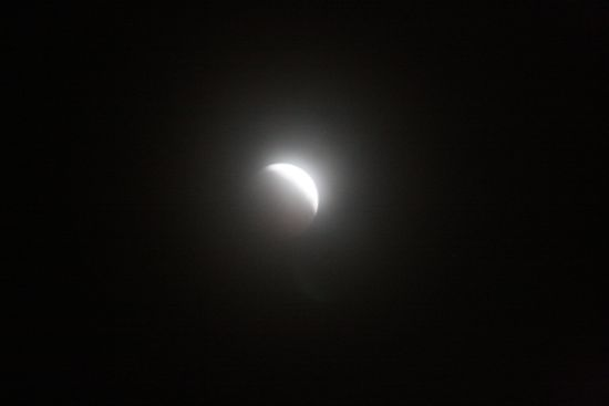 lunar eclipse from Washington, December 2010