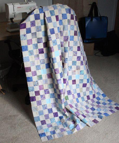 quilt along quilt top!