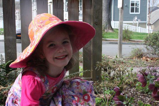 Caitlyn's new sunhat