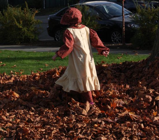 Caitlyn's Halloween Costume, 2011