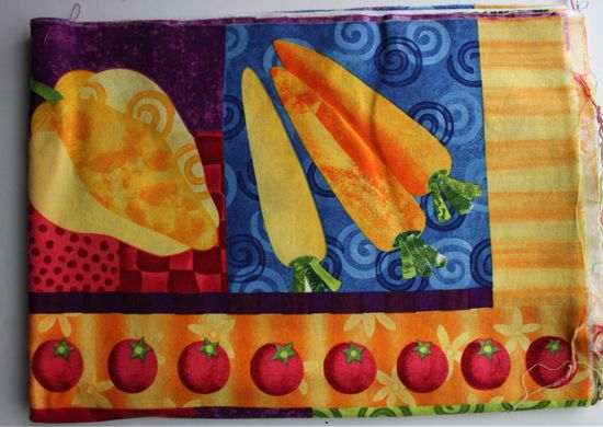 veggie fabric
