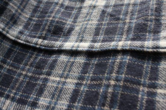 blue flannel for Ian