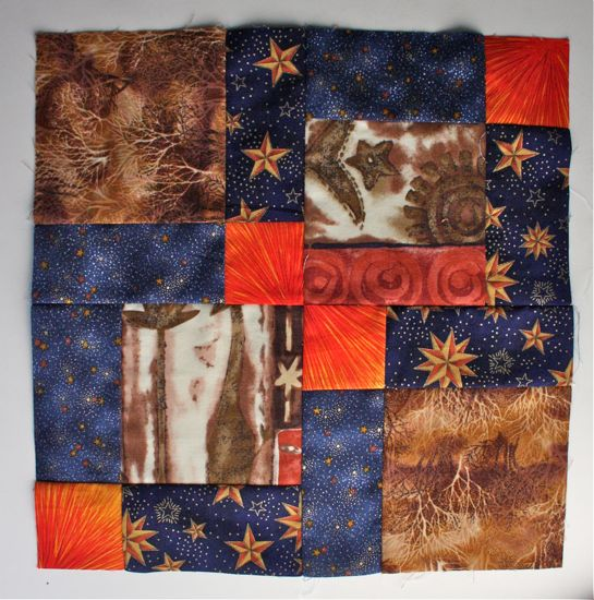 Sew. Quilt. Give. June block 1