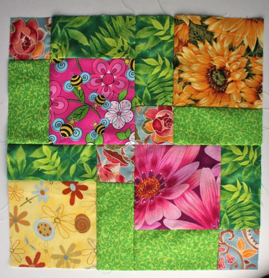Sew. Quilt. Give. June block 2