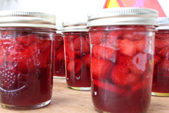 strawberry lemon preserves