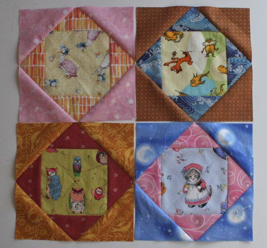 August blocks for Sew.Quilt.Give.