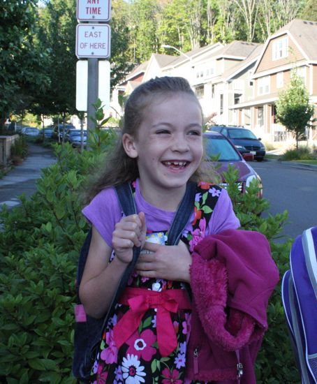 First day of Second Grade!
