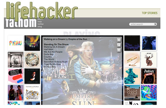 Fathom featured on Lifehacker